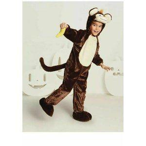 Monkey Banana Halloween Costume Toddler 18-24 Months Soft Jumpsuit